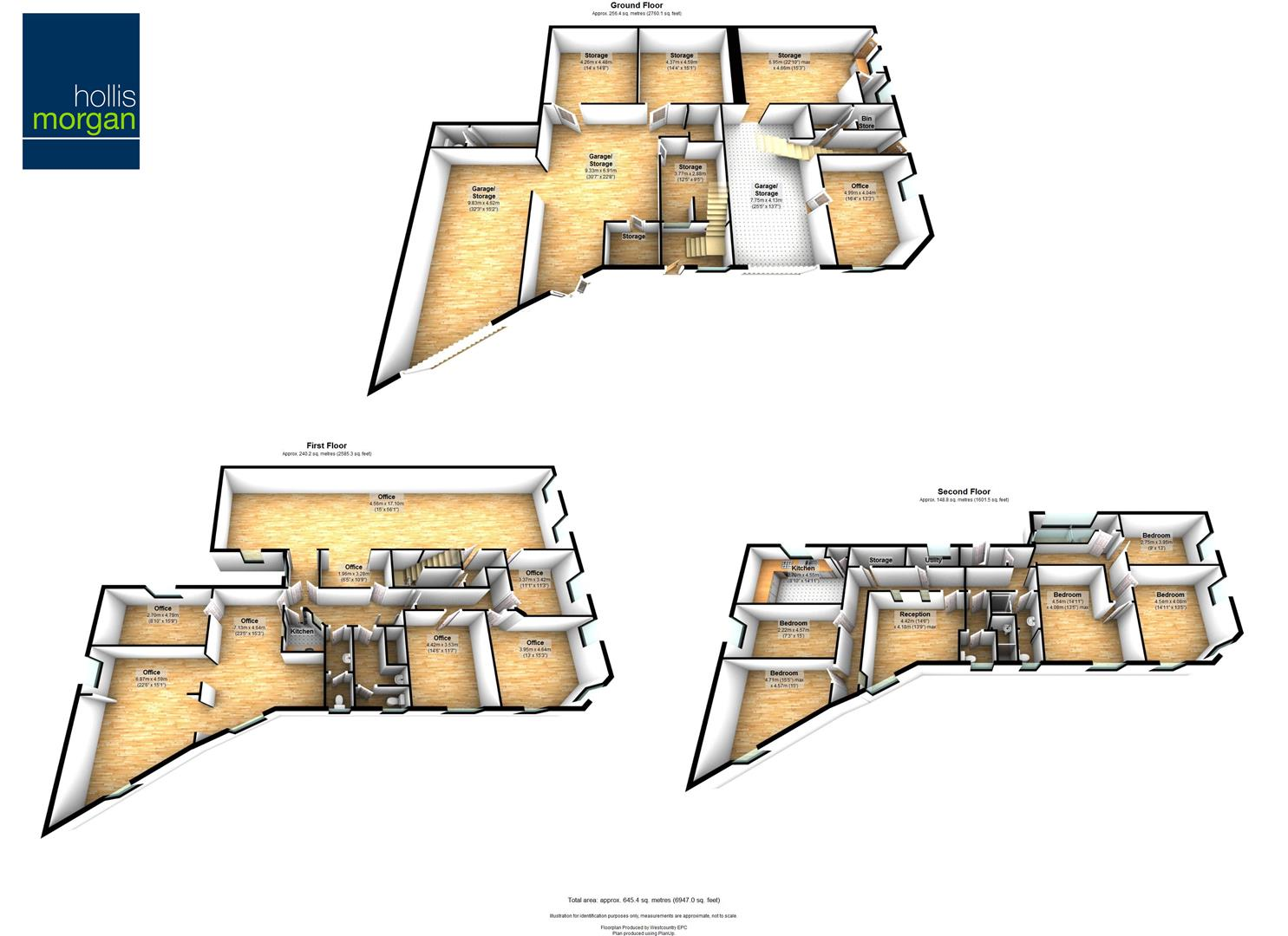 Floorplans For Upper York Street, Stokes Croft, Bristol