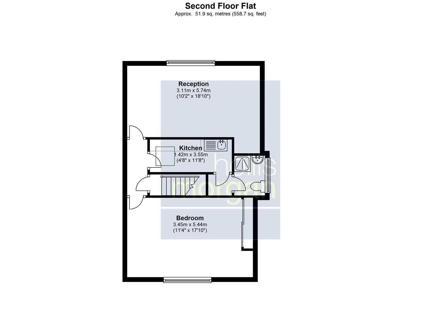 Floorplans For Cromwell Road, St. Andrews, Bristol