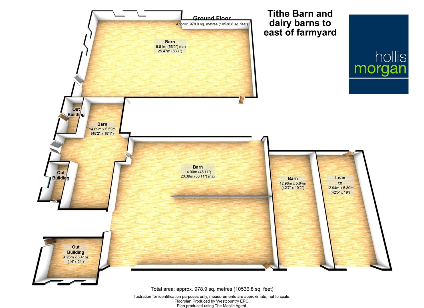 Floorplans For Hicks Gate Farm, Bath Road, Keynsham