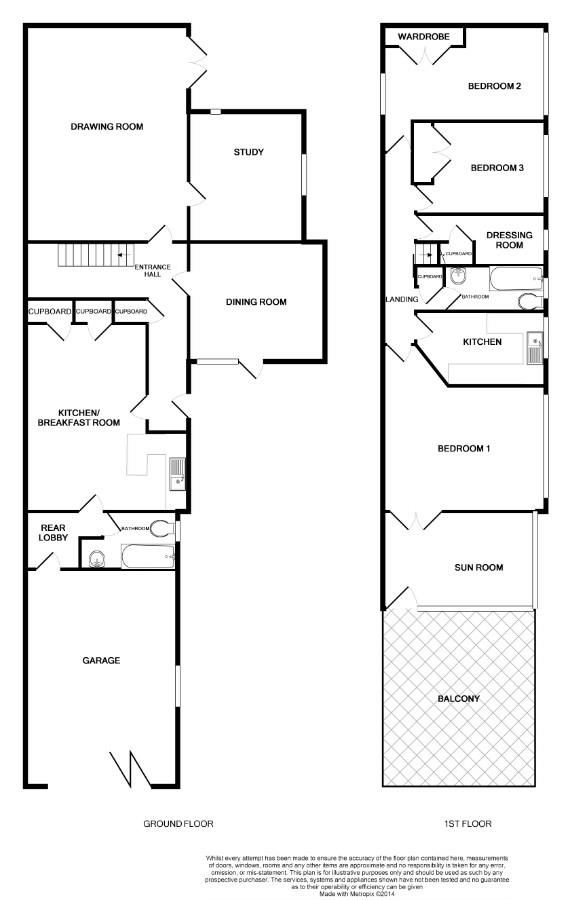 Floorplans For Elton Road, Clevedon