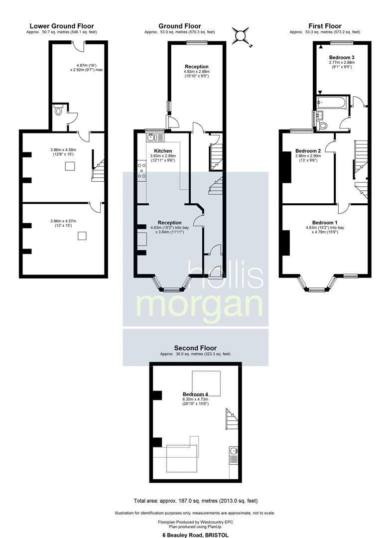 Floorplans For House and Plot @ 6 Beauley Road, Southville, Bristol