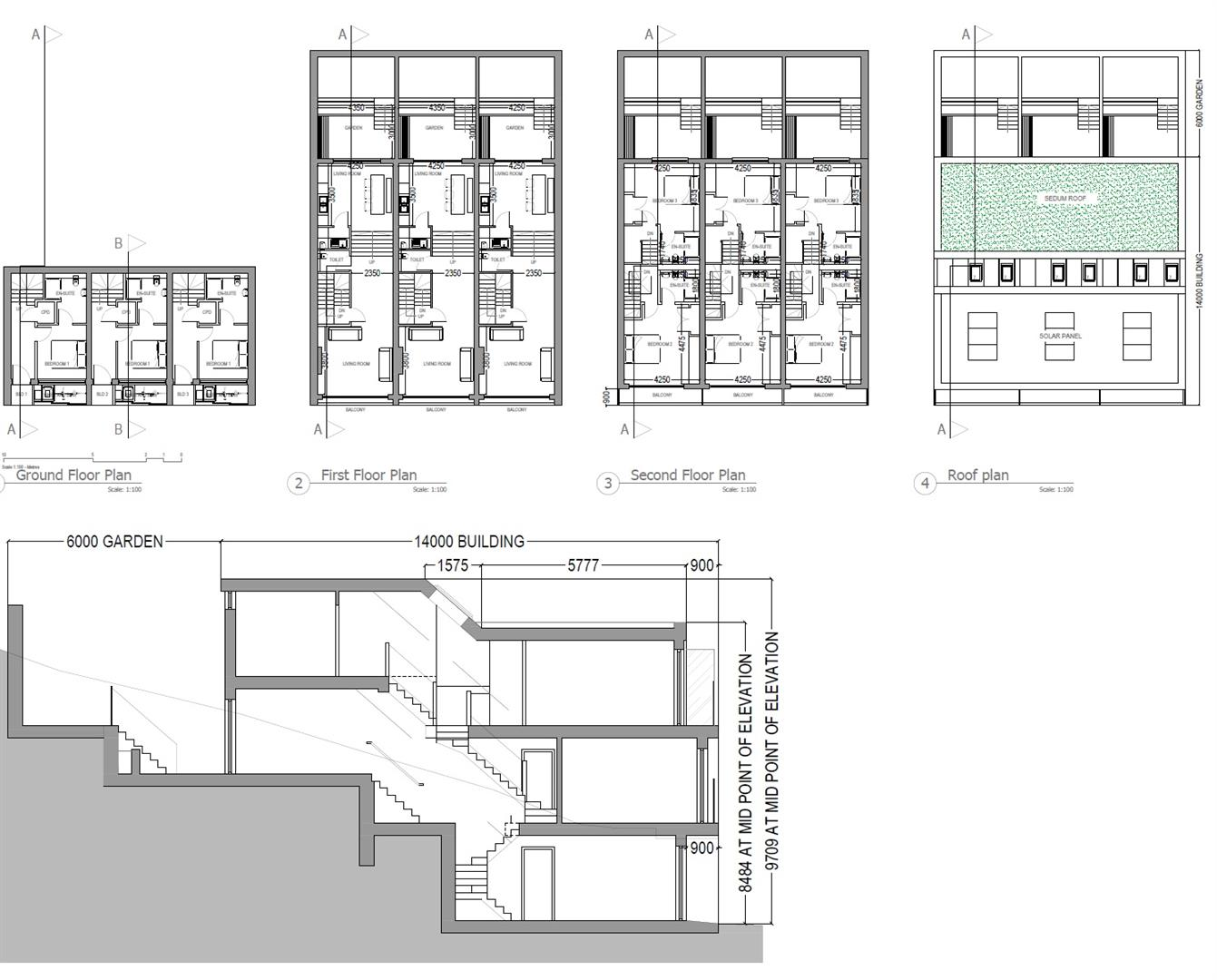 Floorplans For Land @ Eldon Terrace, Windmill Hill, Bristol