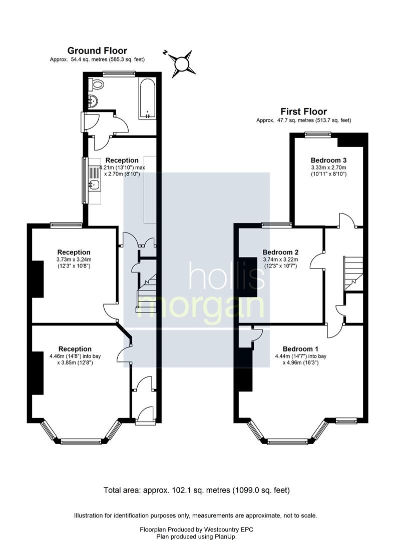 Floorplans For 1 St. Leonards Road, Greenbank, Bristol