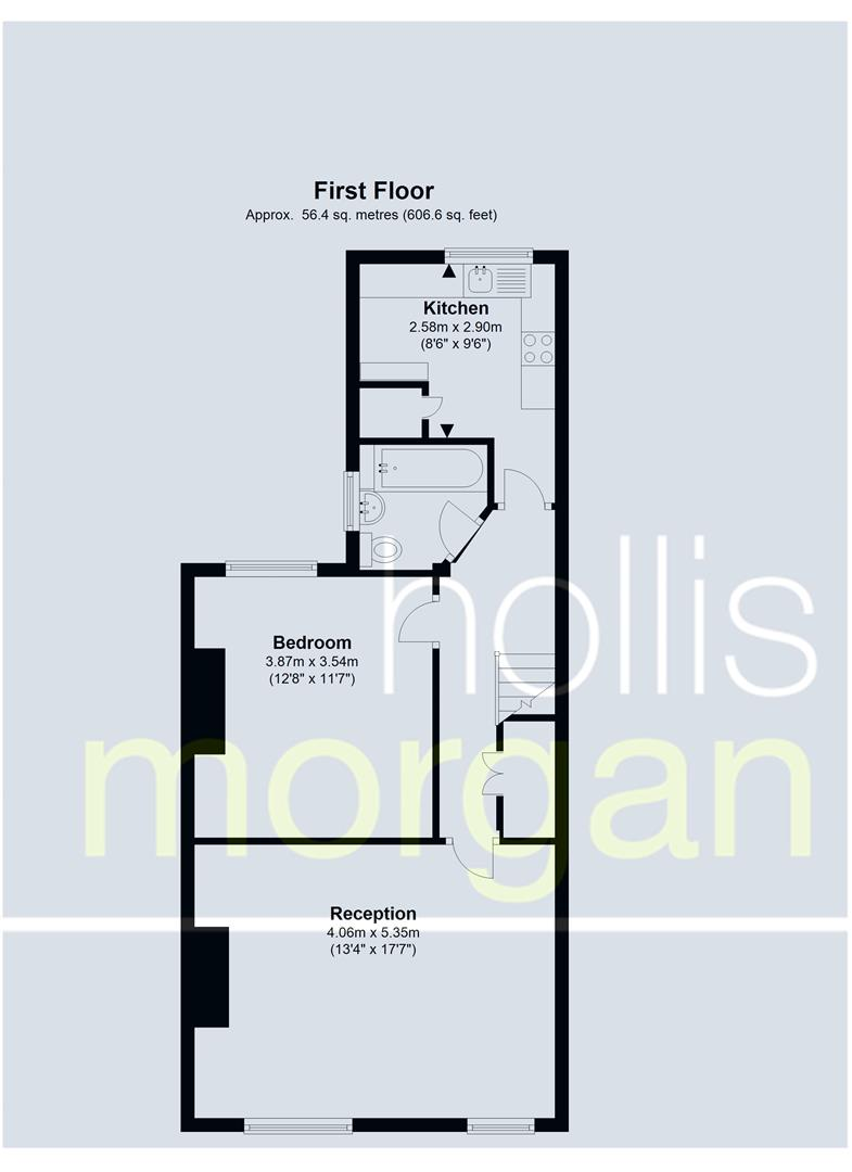 Floorplans For 41 Sandy Park Road, Brislington, Bristol