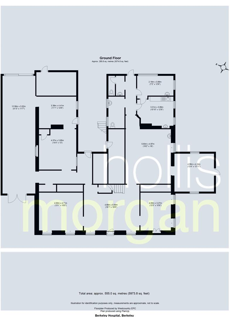 Floorplans For High Street, Berkeley