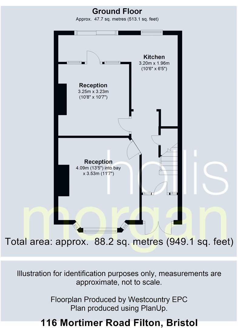 Floorplans For Mortimer Road, Filton, Bristol