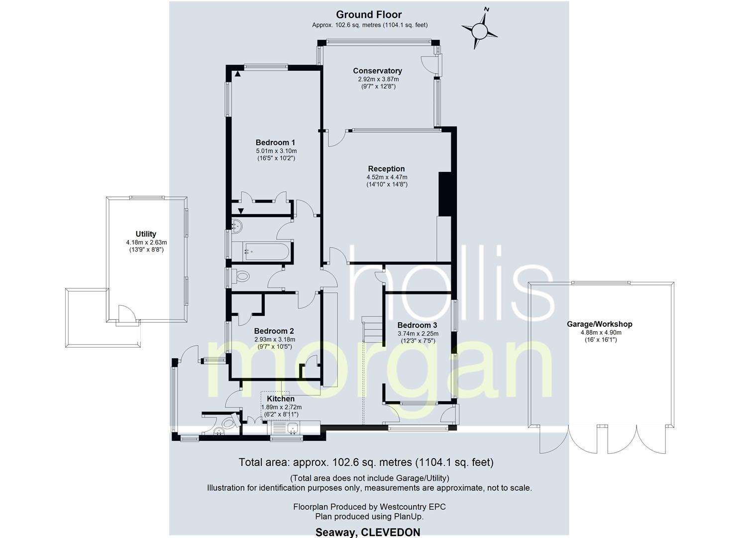 Floorplans For Walton Down, Clevedon
