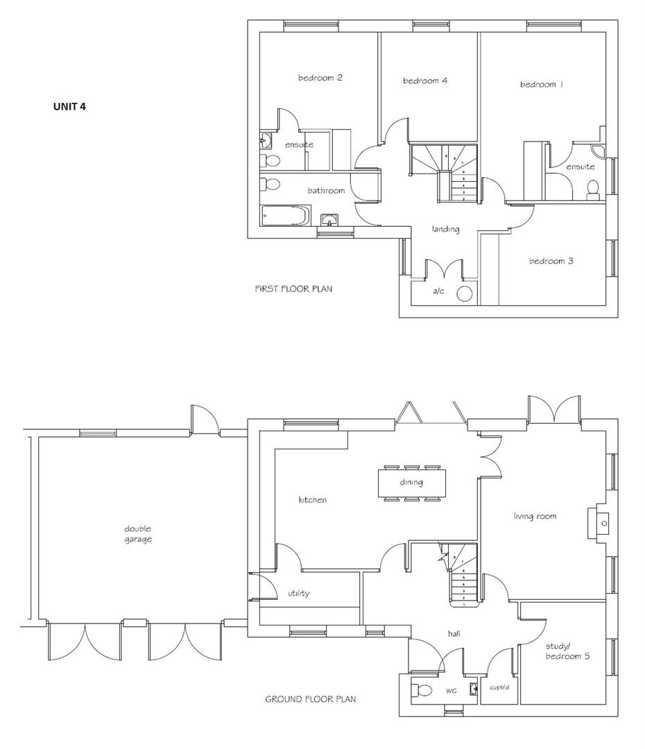 Floorplans For *** REDUCED PRICE *** Development Site @ The Old Forge, Limington BA22