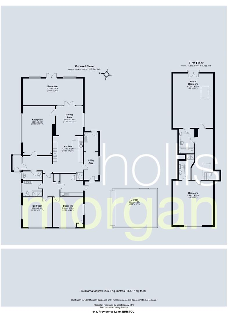 Floorplans For Providence Lane, Long Ashton