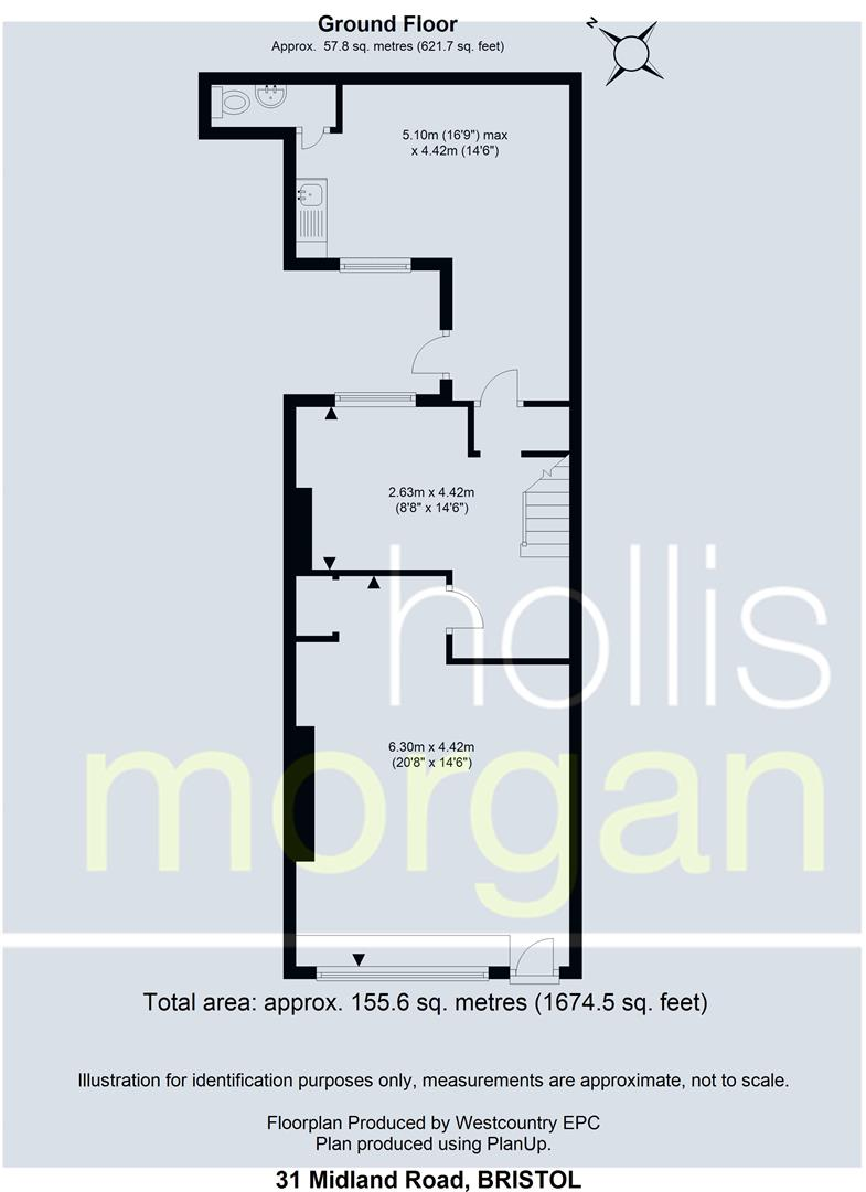 Floorplans For 31 Midland Road, St Phillips