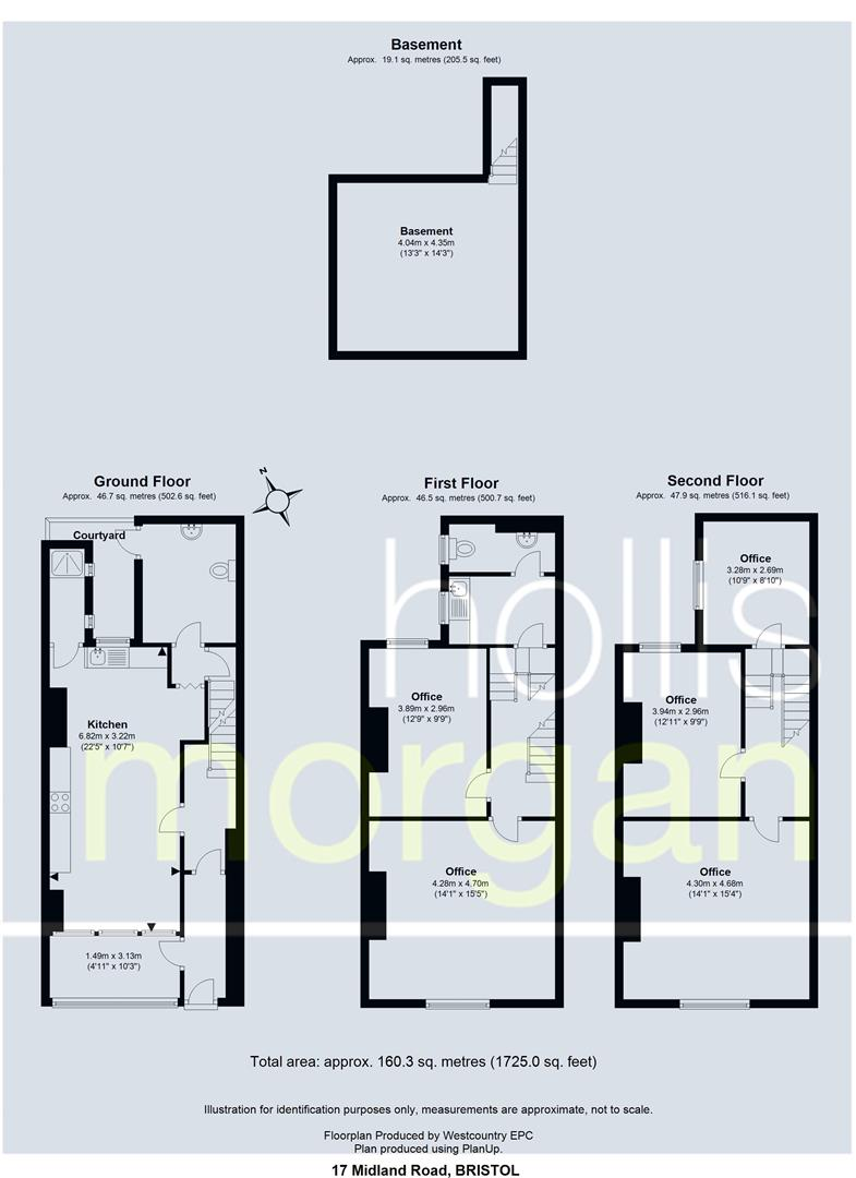Floorplans For 17 Midland Road - Old Market