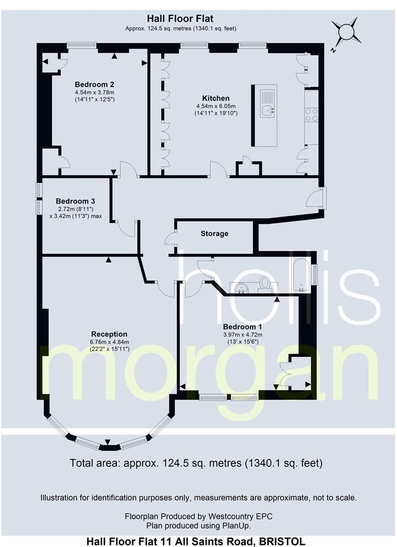Floorplans For All Saints Road, Clifton