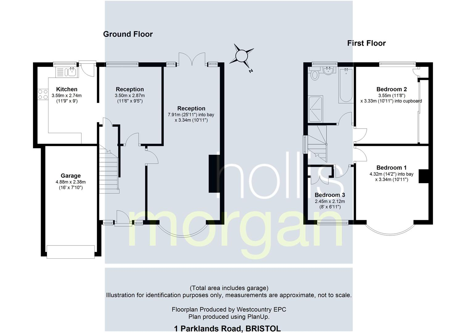 Floorplans For Parklands Road, Bower Ashton