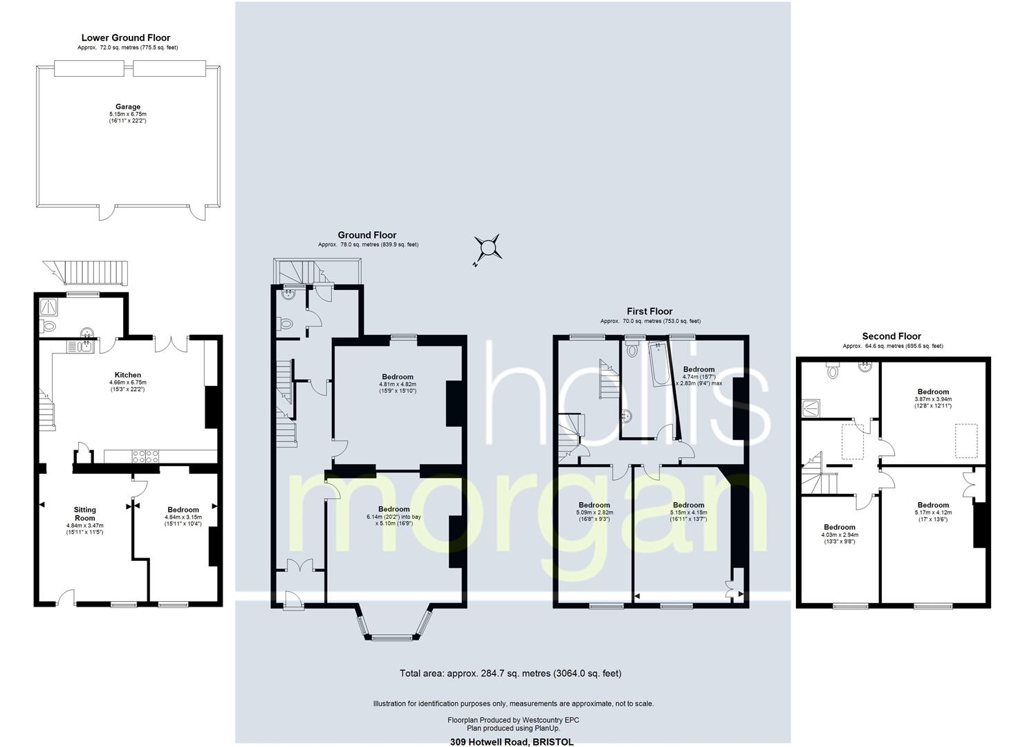 Floorplans For Hotwell Road, Hotwells