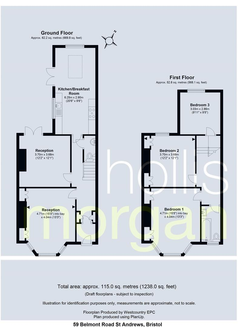 Floorplans For Belmont Road, St. Andrews