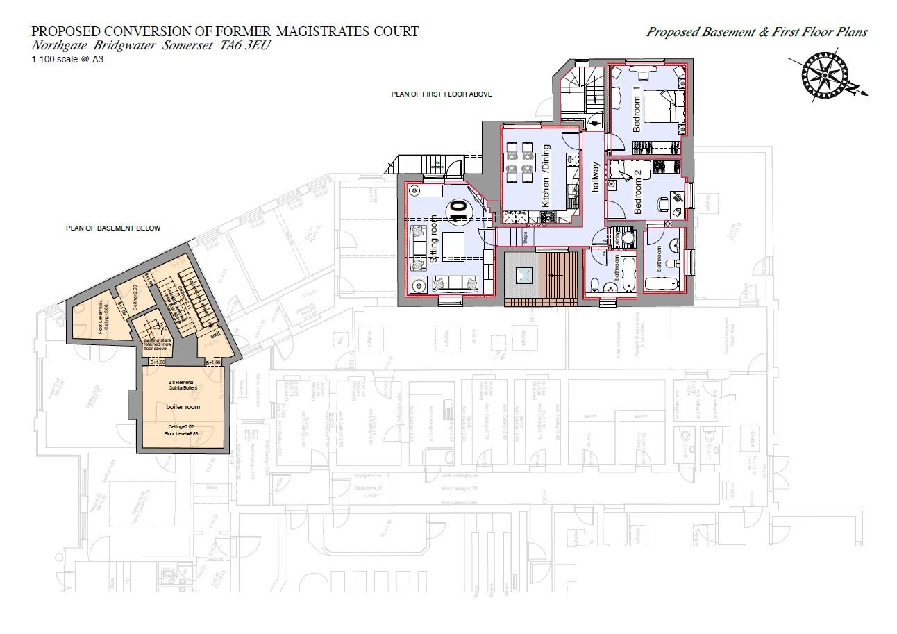 Floorplans For PLANNING GRANTED - GDV £1.95M