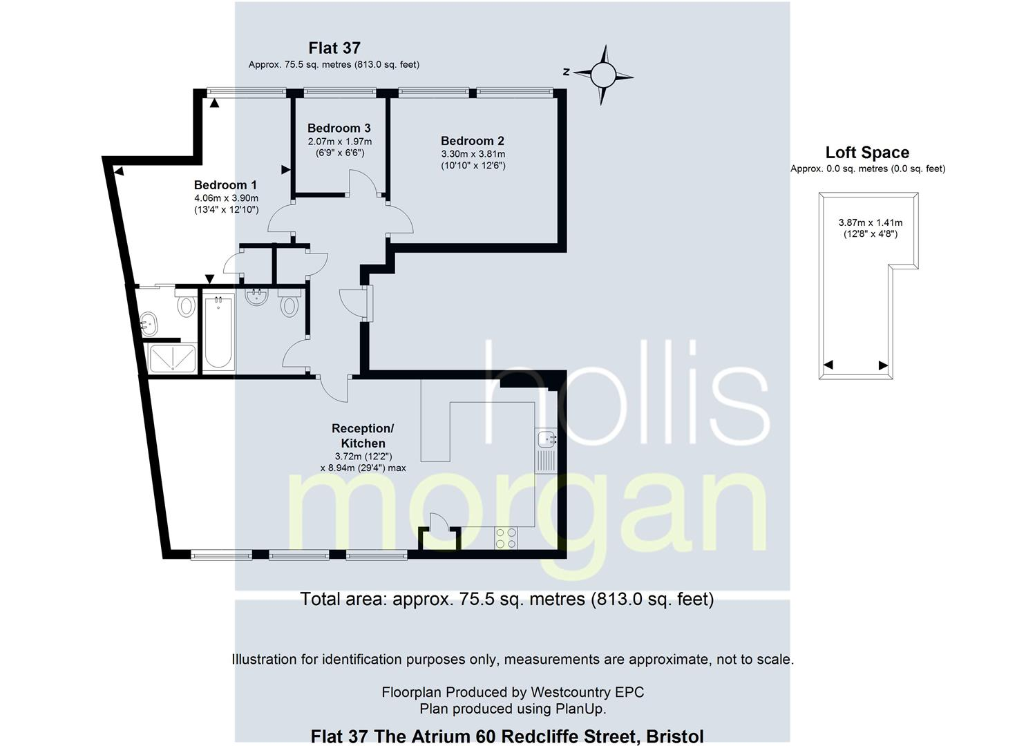Floorplans For The Artium, Redcliff Street