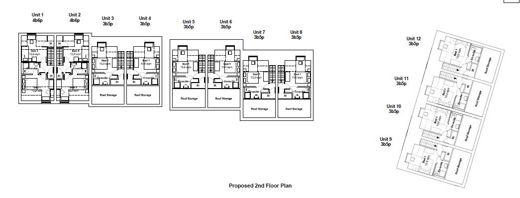 Floorplans For PP GRANTED FOR 12 HOUSES - G.D.V £3 M