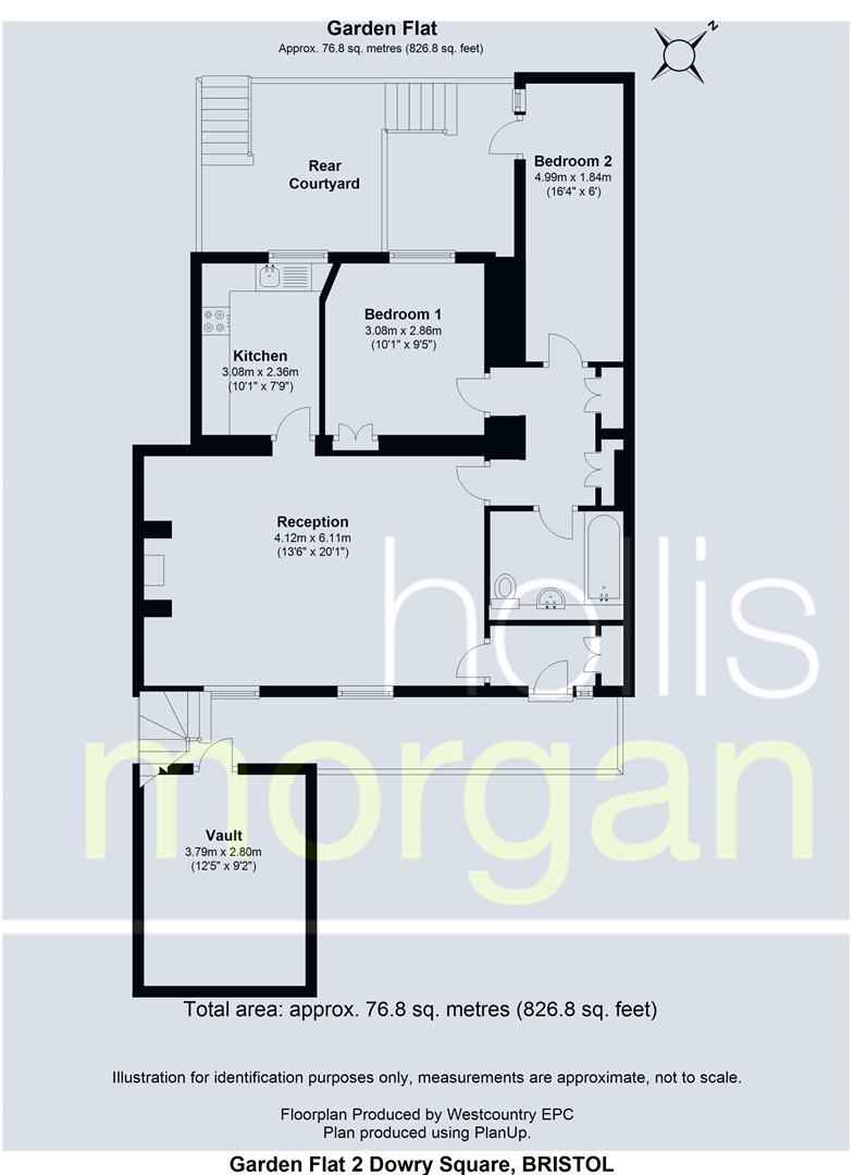 Floorplans For Dowry Square, Hotwells