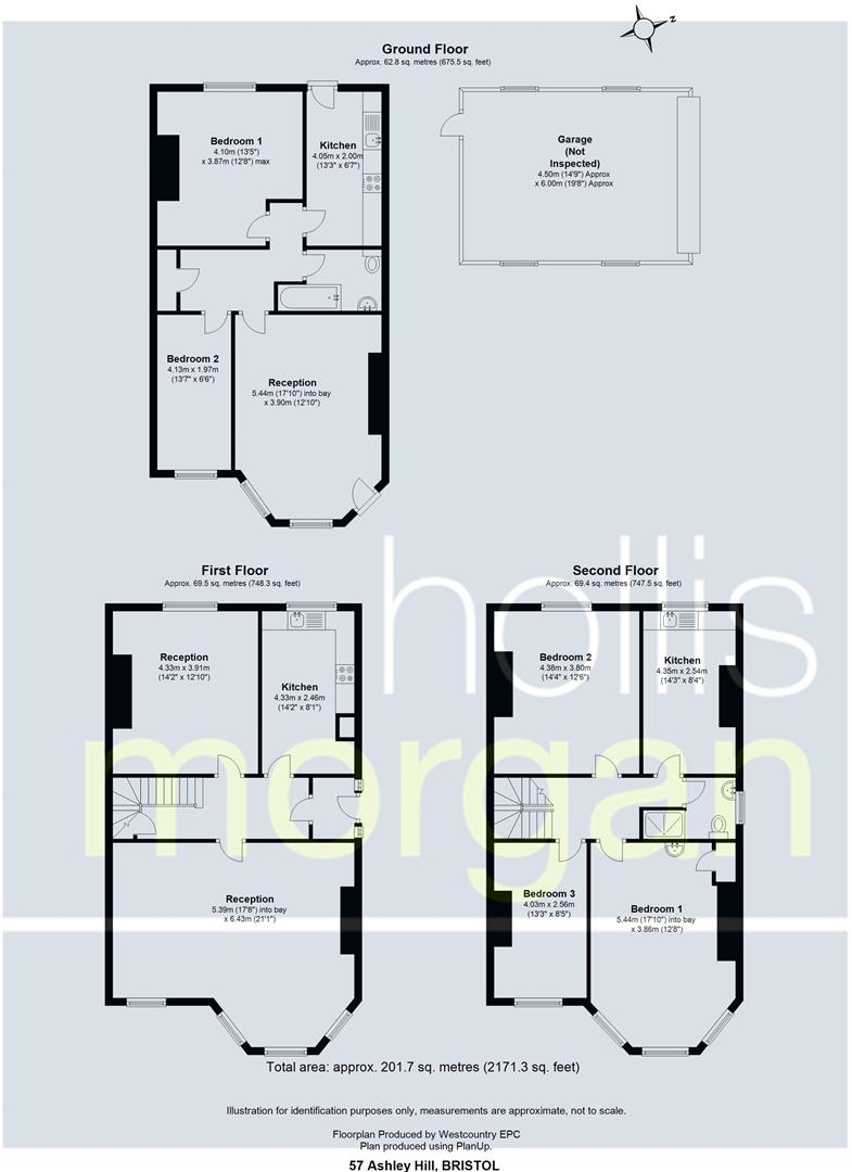 Floorplans For HOUSE + FLAT + DOUBLE GARAGE - ASHLEY HILL