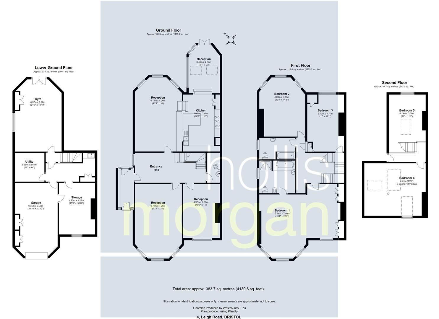 Floorplans For Leigh Road, Clifton