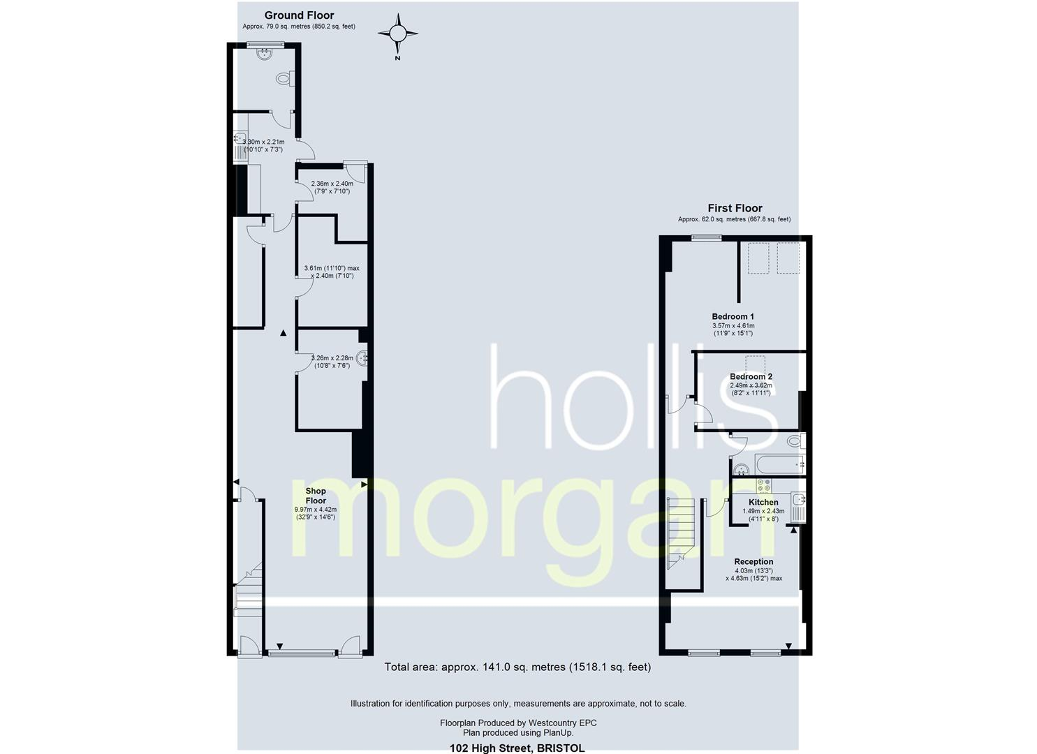 Floorplans For MIXED USE INVESTMENT - HIGH STREET LOCATION
