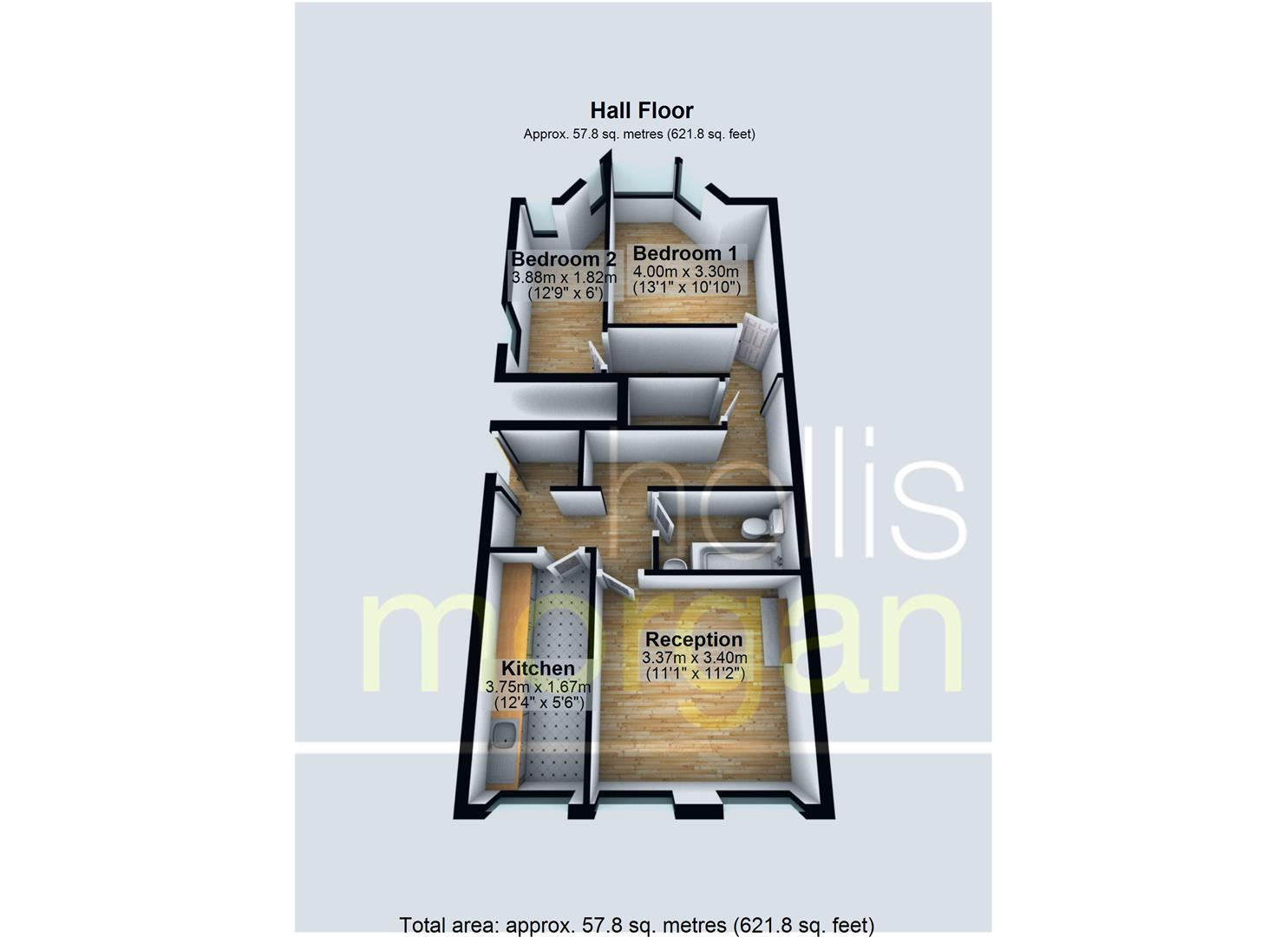 Floorplans For HALL FLOOR FLAT FOR BASIC UPDATING