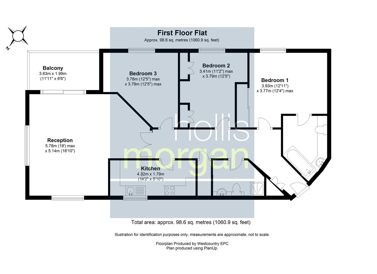 Floorplans For Marklands, Sneyd Park