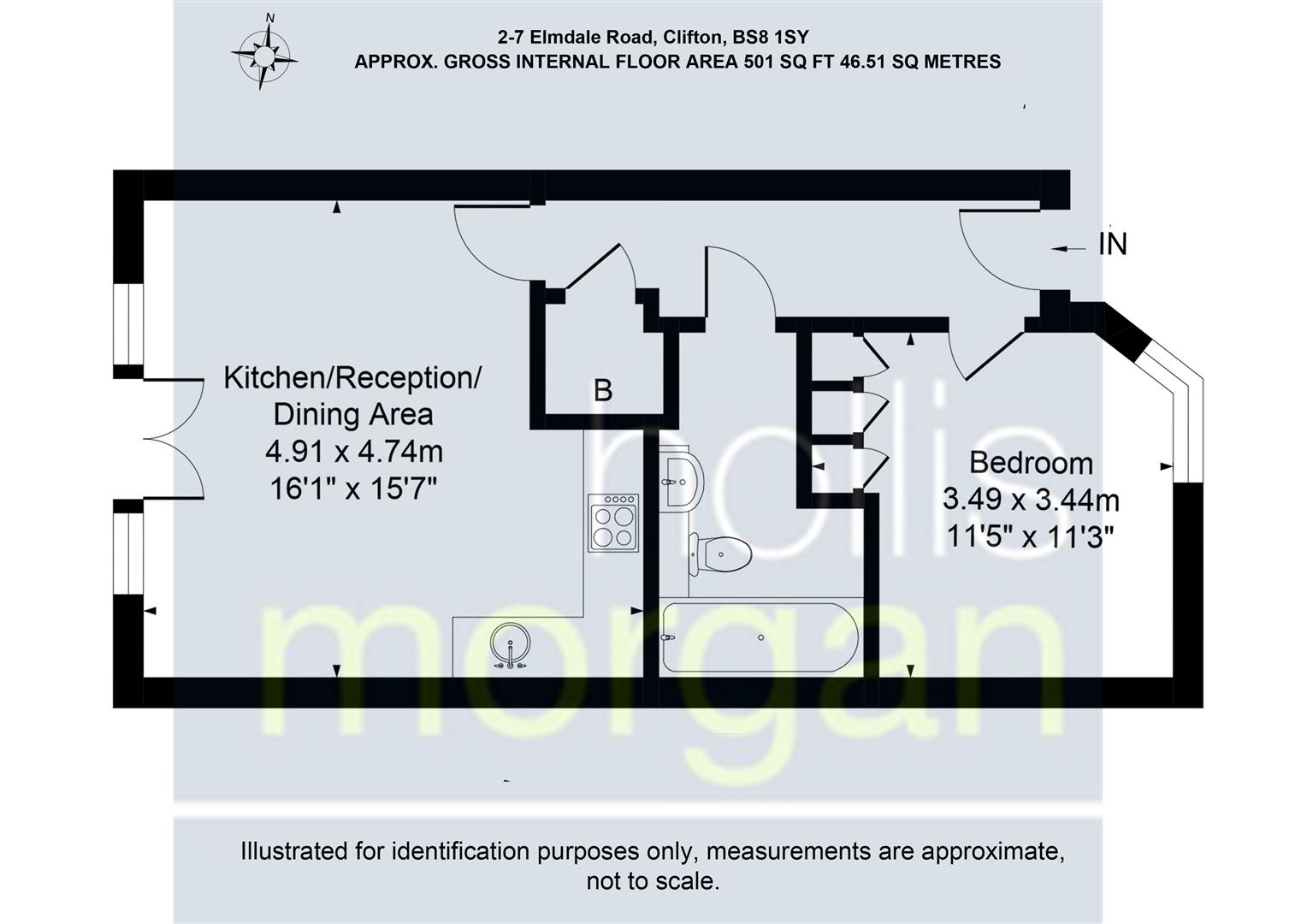 Floorplans For Elmdale Road, Clifton