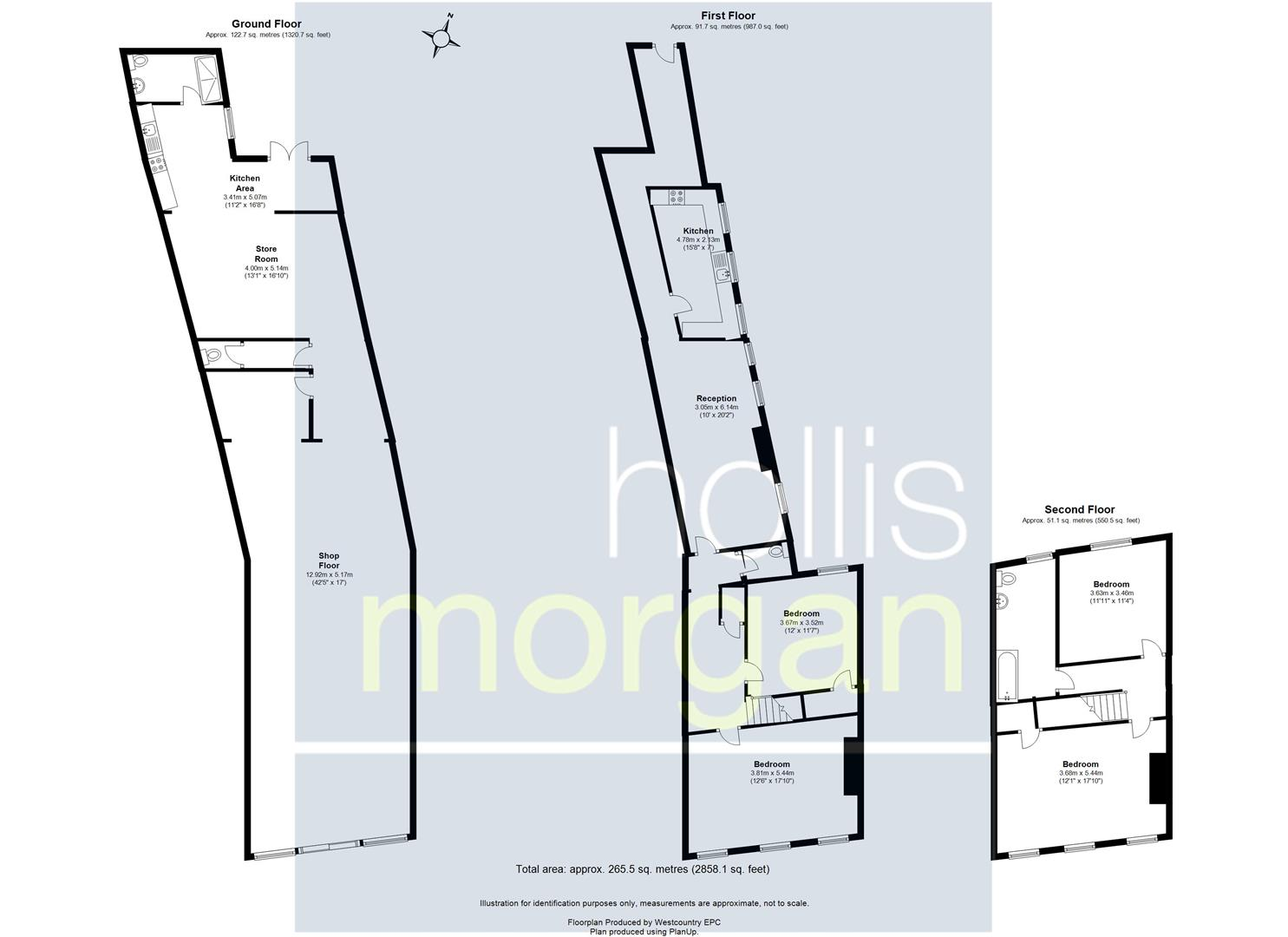 Floorplans For MIXED USE INVESTMENT - HIGH ST LOCATION