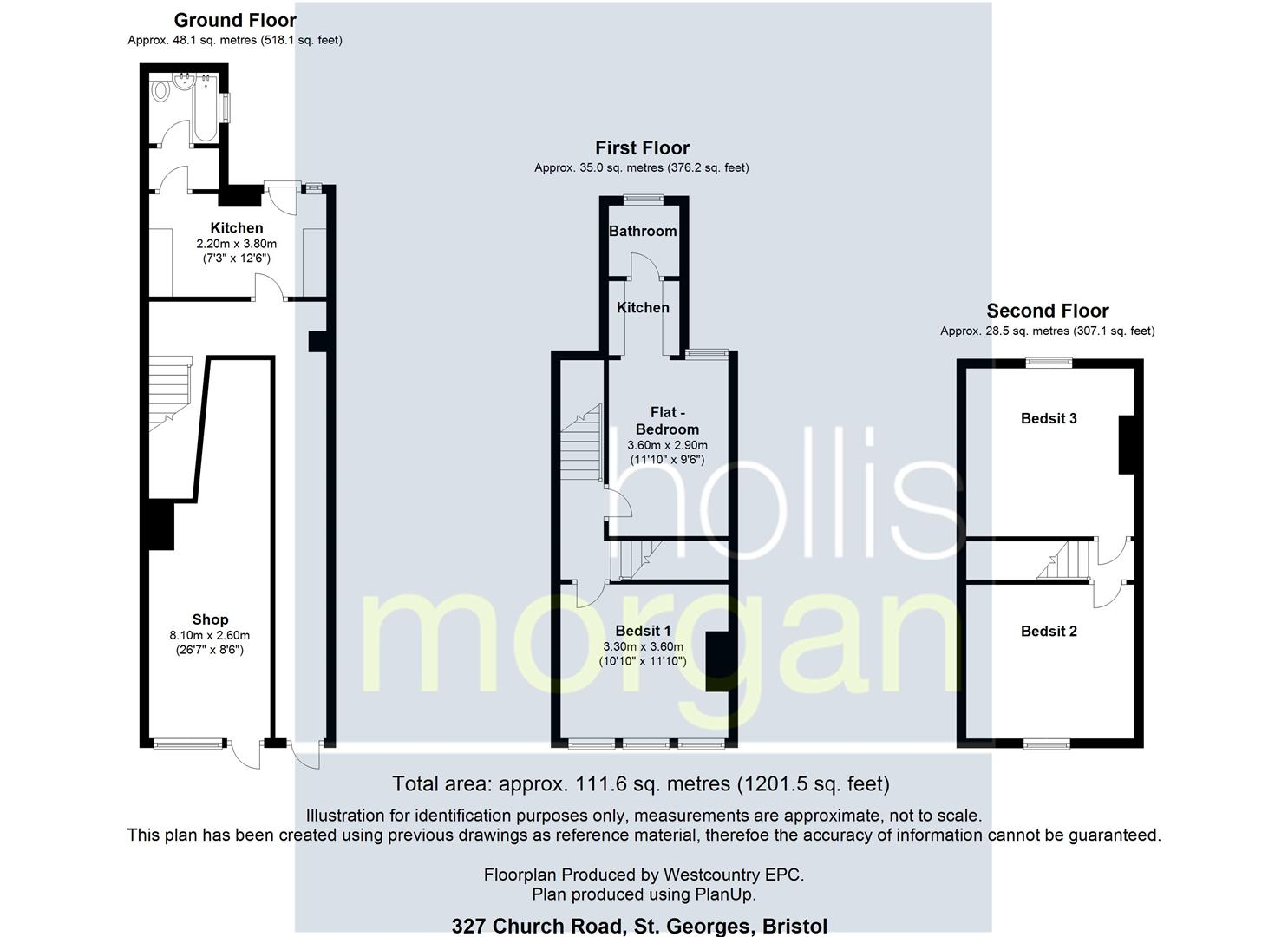 Floorplans For MIXED USE INVESTMENT - £24k PA