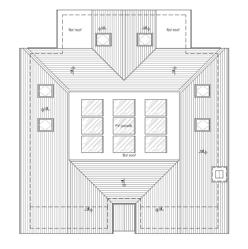 Floorplans For DETACHED BUNGALOW - PLANNING GRANTED