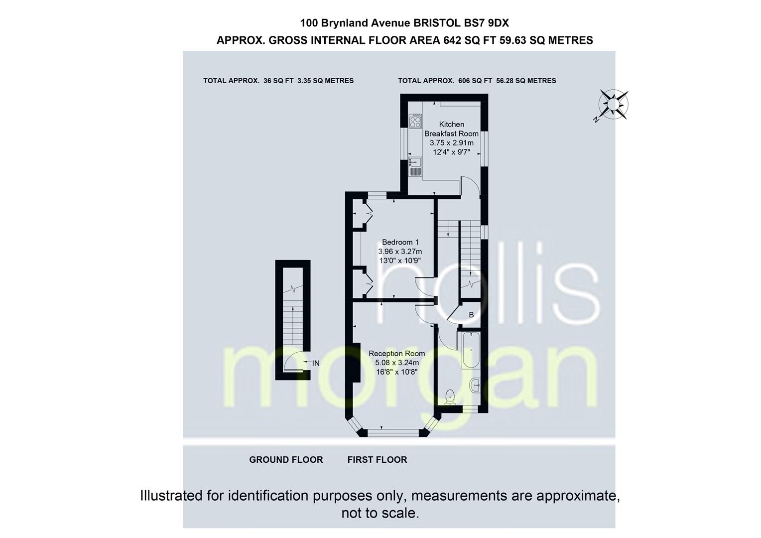 Floorplans For Brynland Avenue, Bishopston
