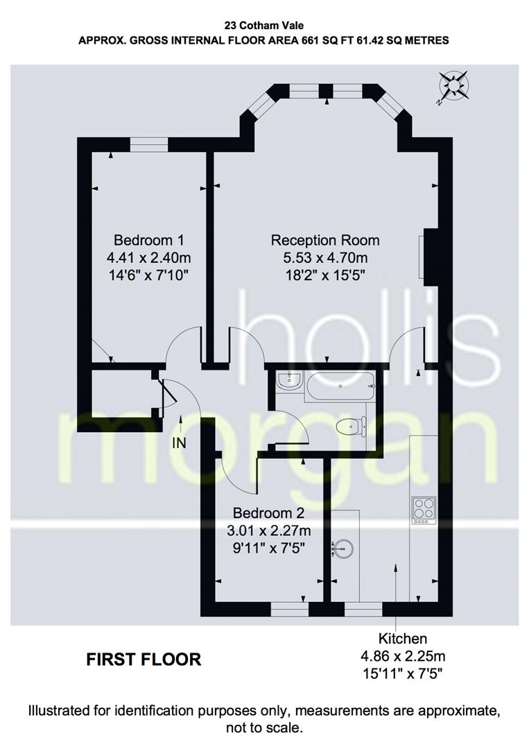 Floorplans For Cotham Vale, Redland
