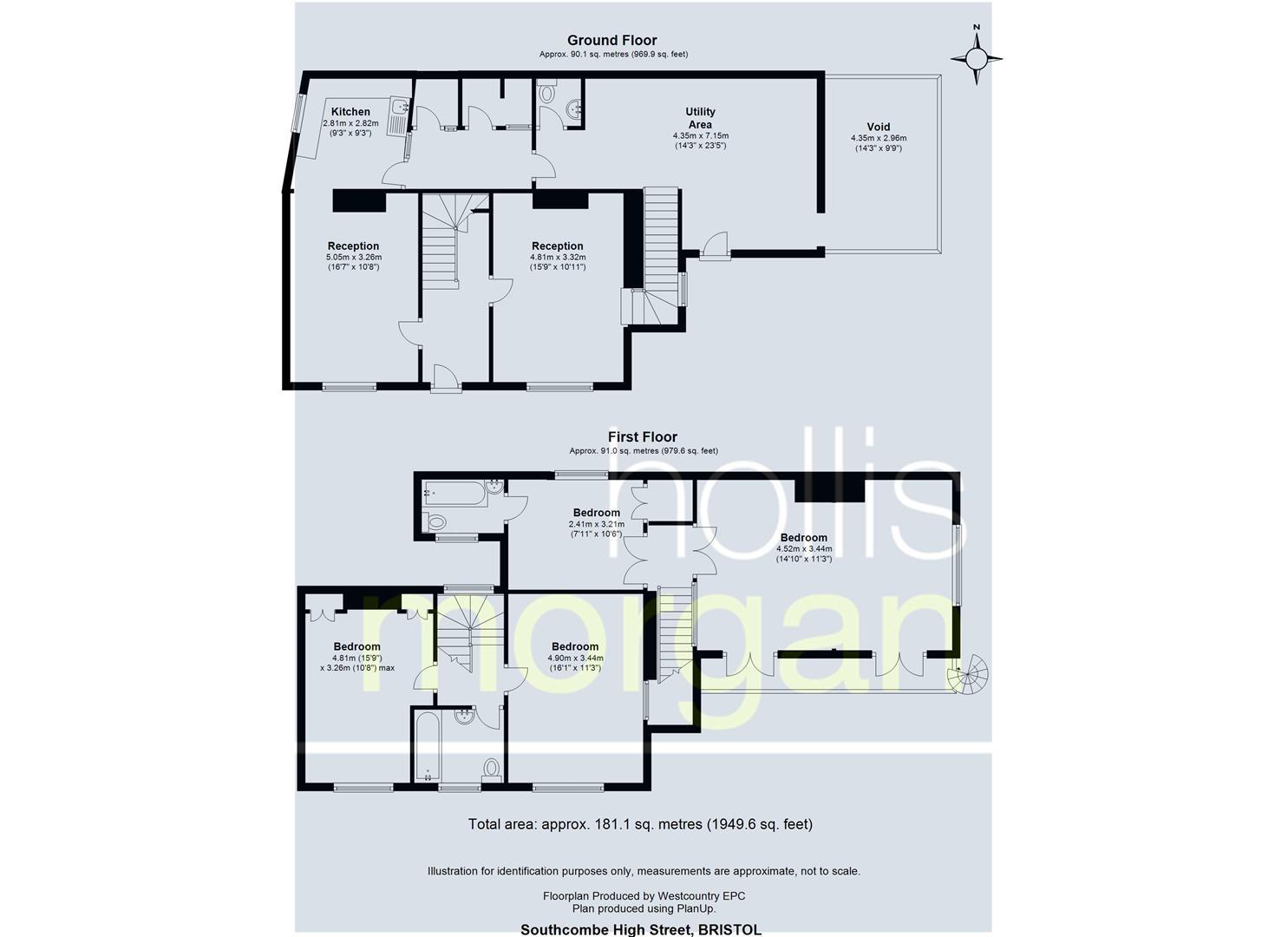 Floorplans For WRINGTON TOWNHOUSE - HUGE POTENTIAL