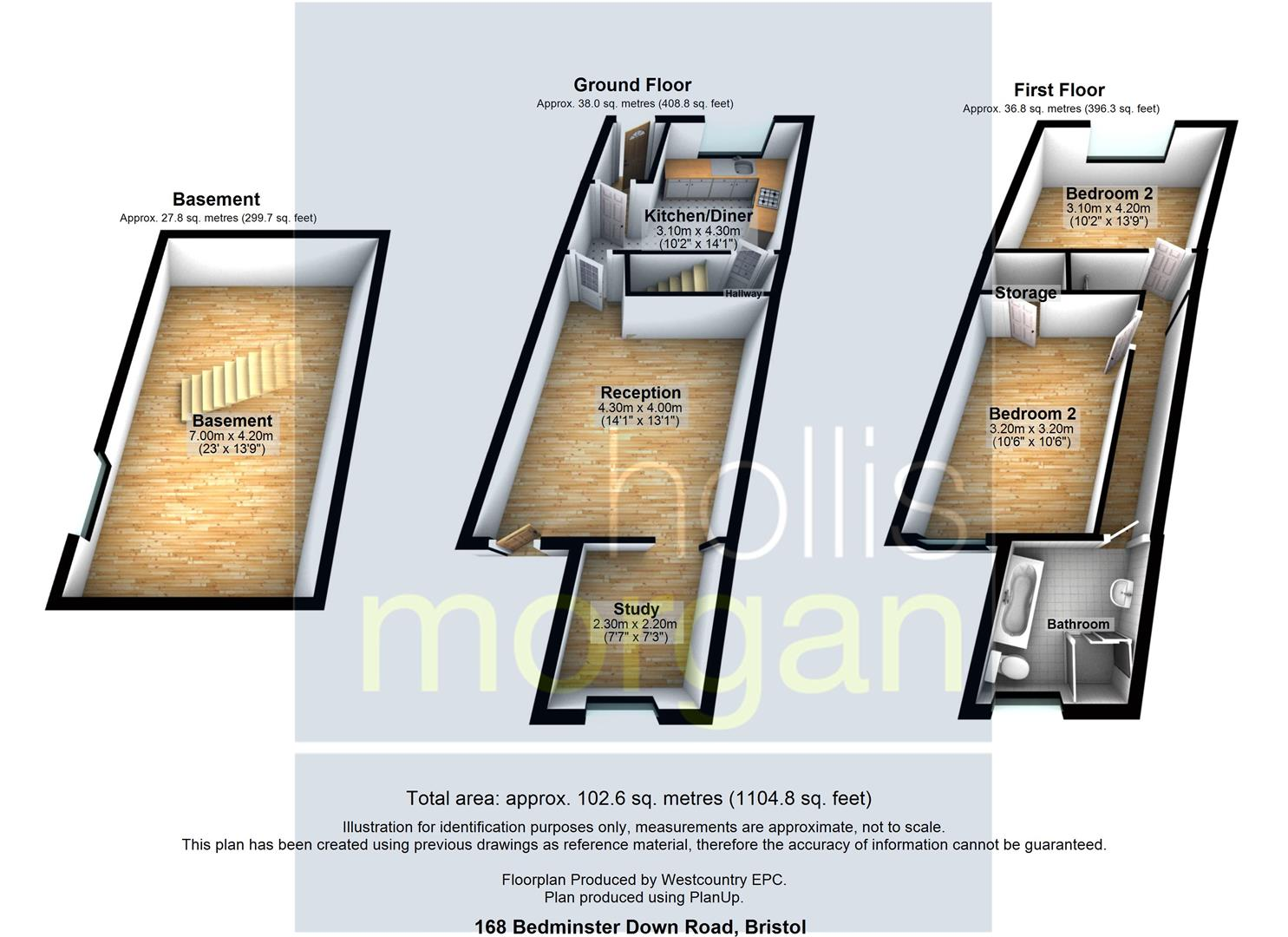 Floorplans For FINE VIEWS - REDUCED PRICE FOR AUCTION