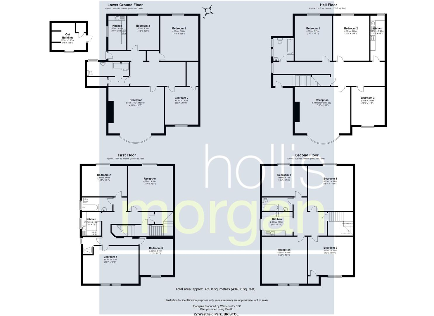 Floorplans For BLOCK OF FLATS - INVESTMENT / BREAK UP