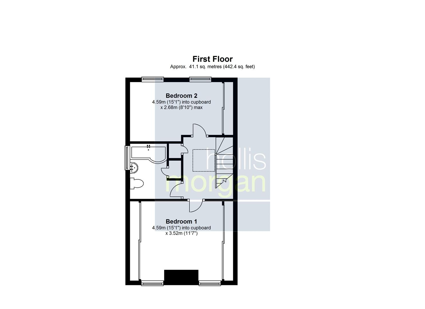 Floorplans For Clifton Wood Road, Cliftonwood, Bristol