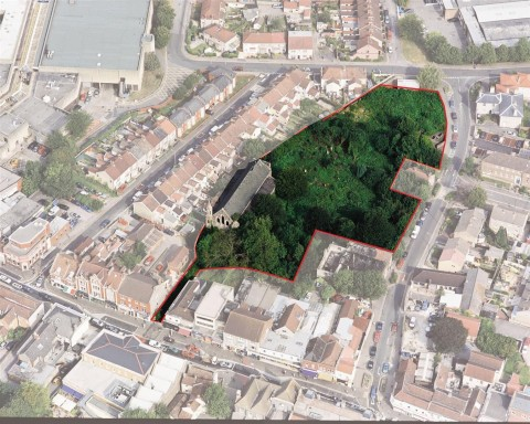 View Full Details for 2 ACRE PLOT - SCOPE FOR 23 HOUSES / FLATS - EAID:hollismoapi, BID:11