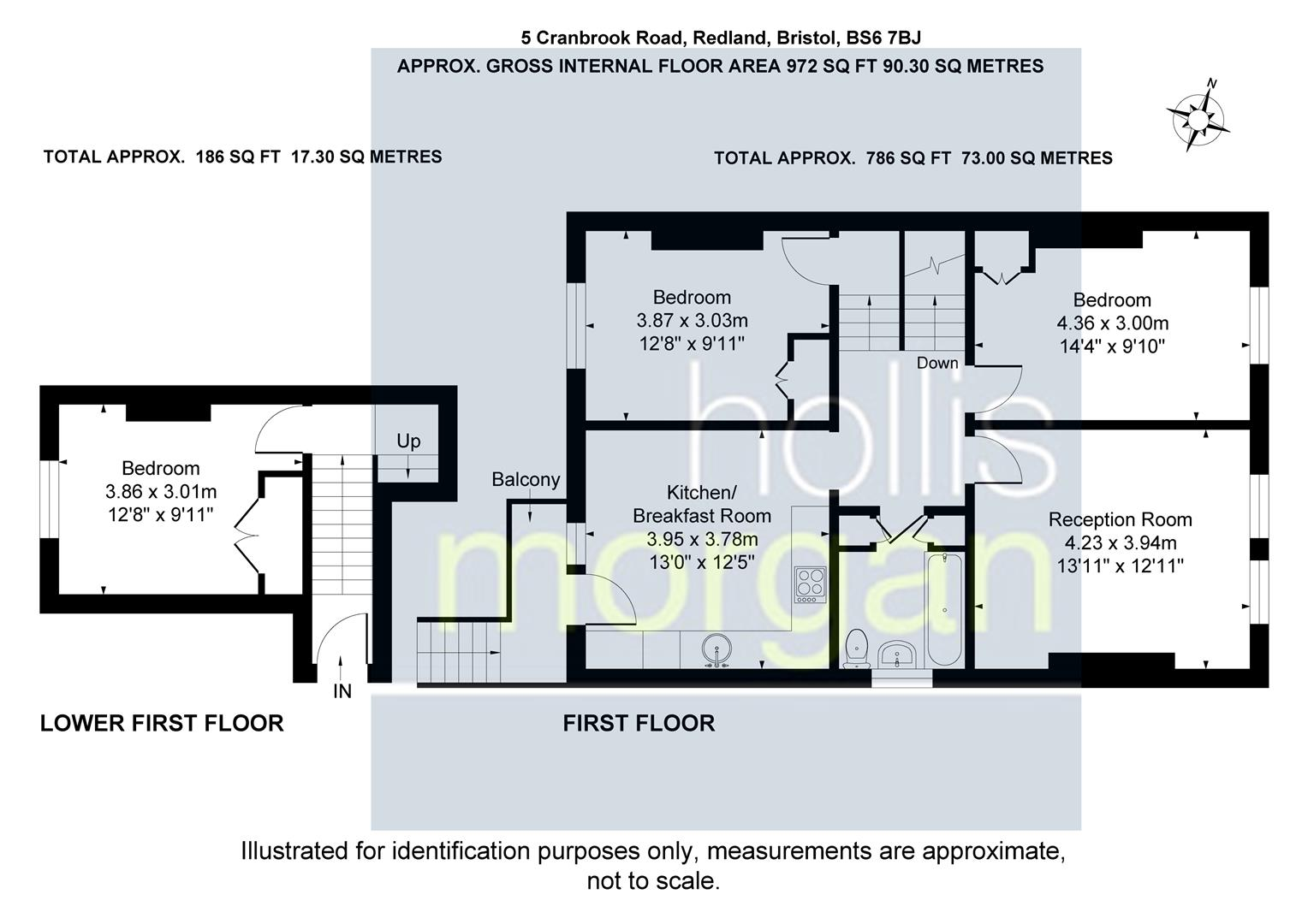Floorplans For Cranbrook Road, Redland