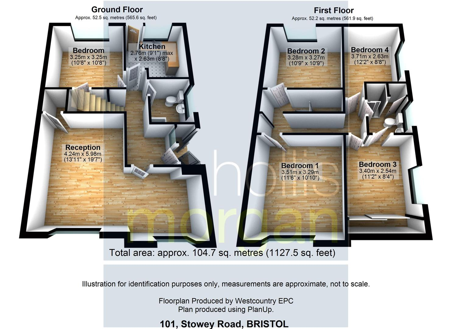 Floorplans For 4 BED FOR UPDATING - YATTON