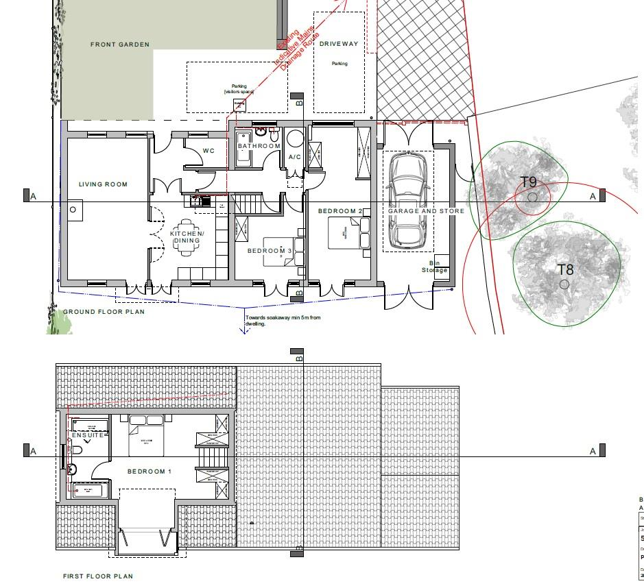 Floorplans For PLANNING GRANTED - LUXURY HOME