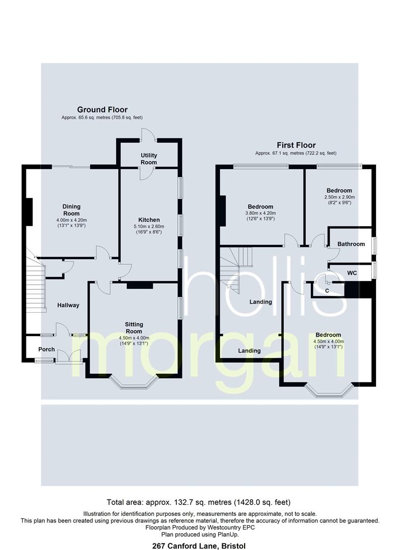 Floorplans For FAMILY HOME FOR UPDATING - CANFORD LANE