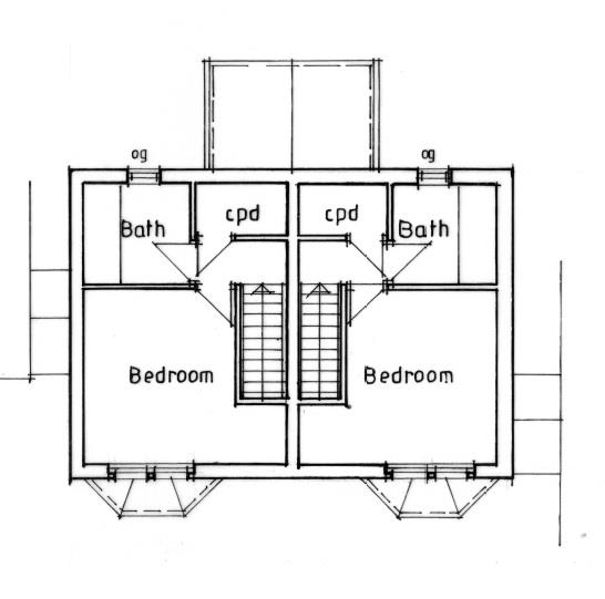 Floorplans For PLANNING GRANTED - 2 X HOUSES