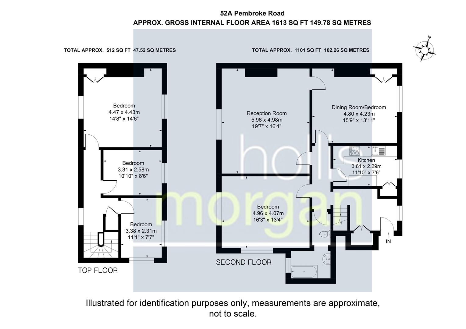 Floorplans For Pembroke Road, Clifton