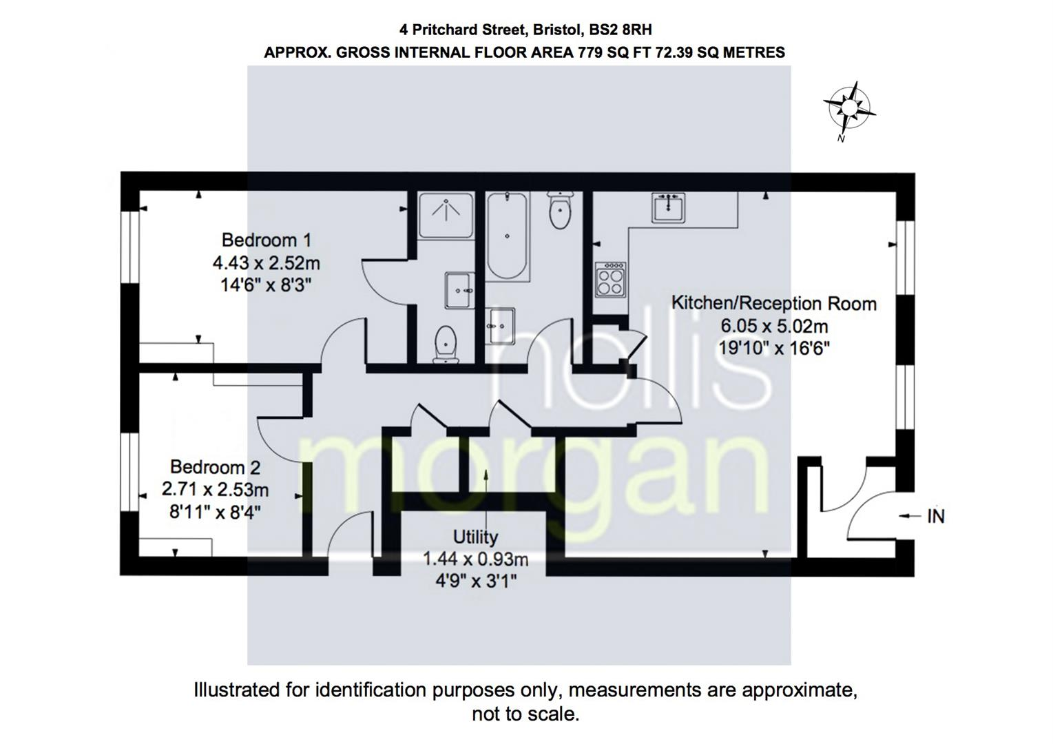 Floorplans For Pritchard Street, City Centre