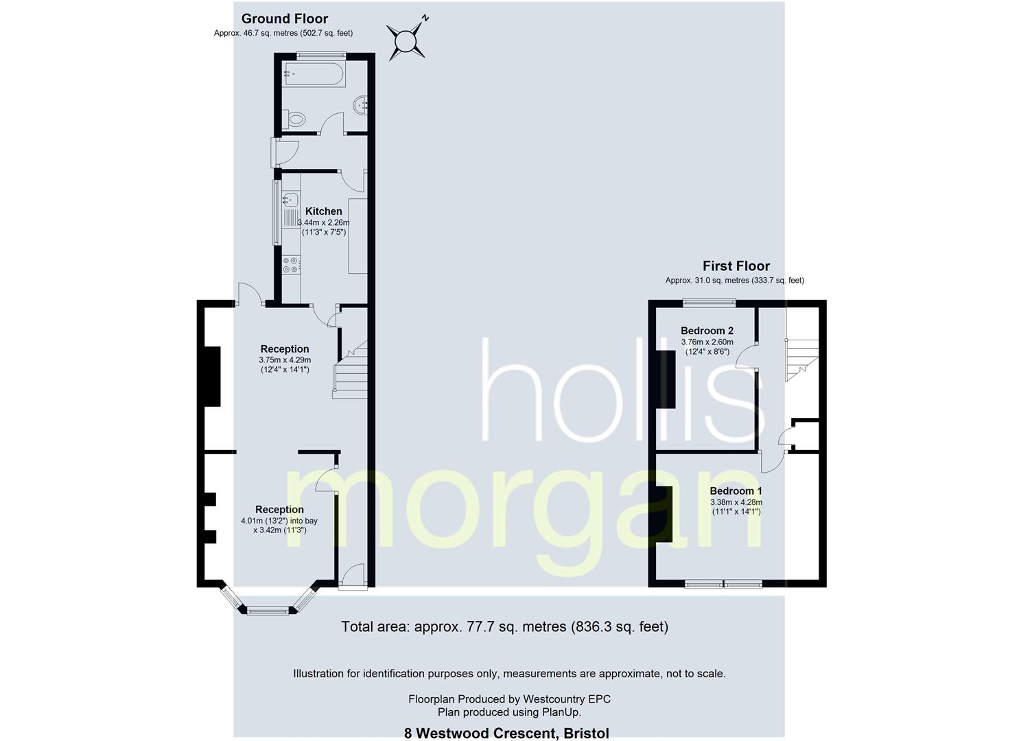 Floorplans For HOUSE FOR MODERNISATION - WESTWOOD CRESCENT