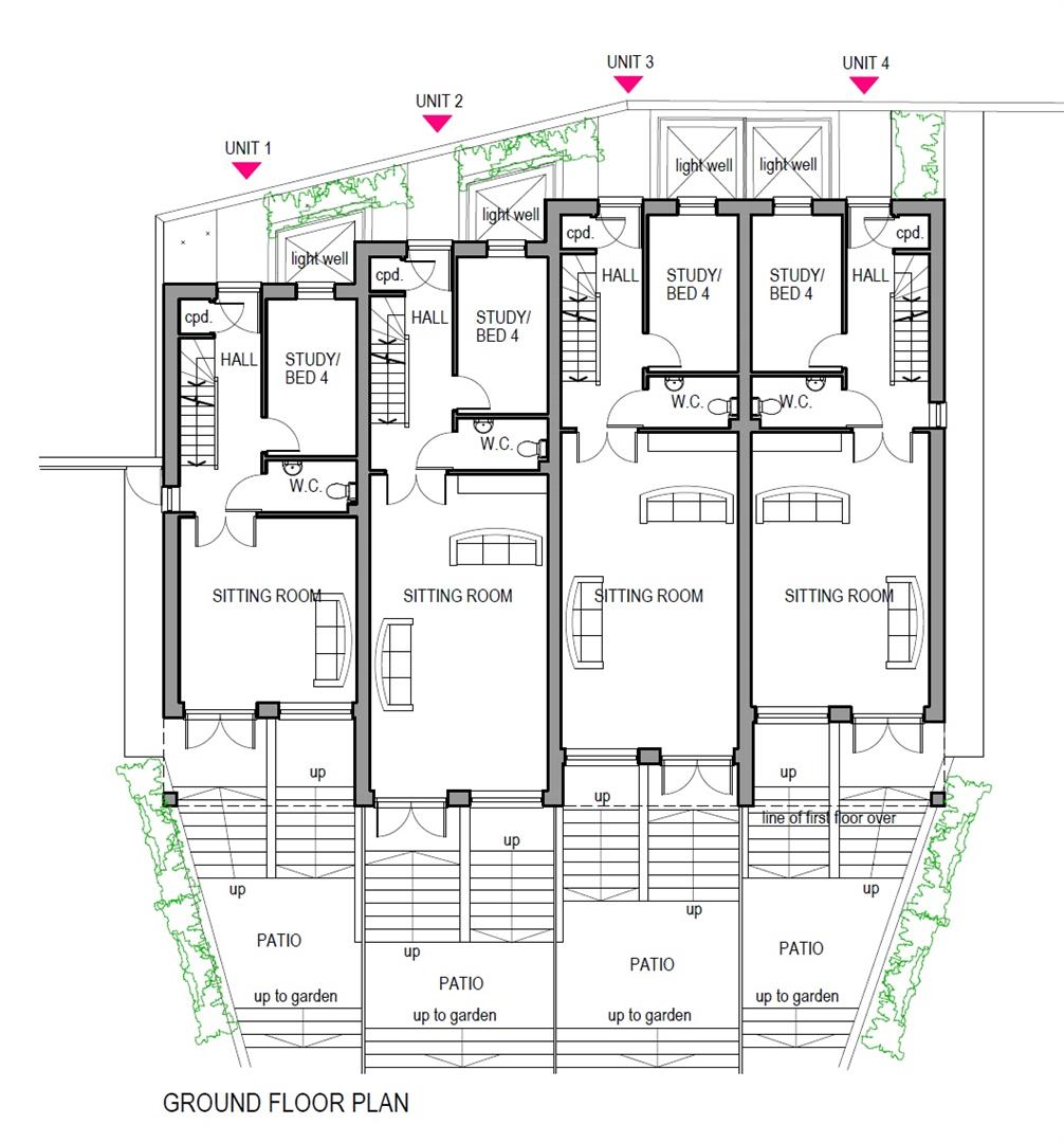Floorplans For PLANNING GRANTED - GDV £1.5M