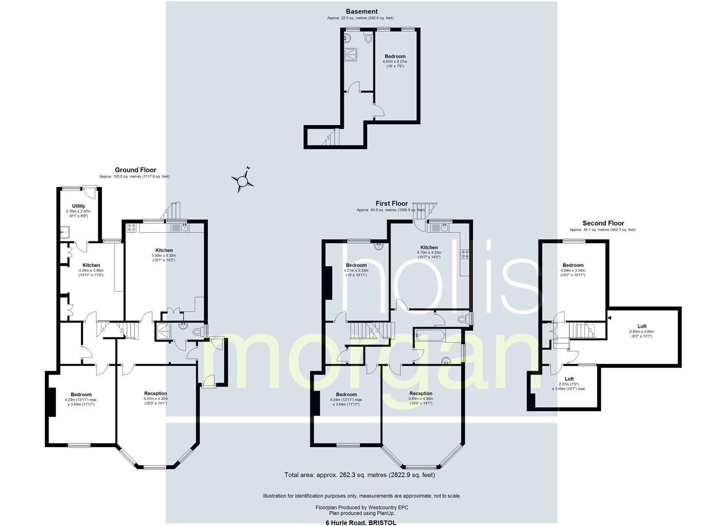 Floorplans For PRIME BLOCK OF FLATS - CLIFTON