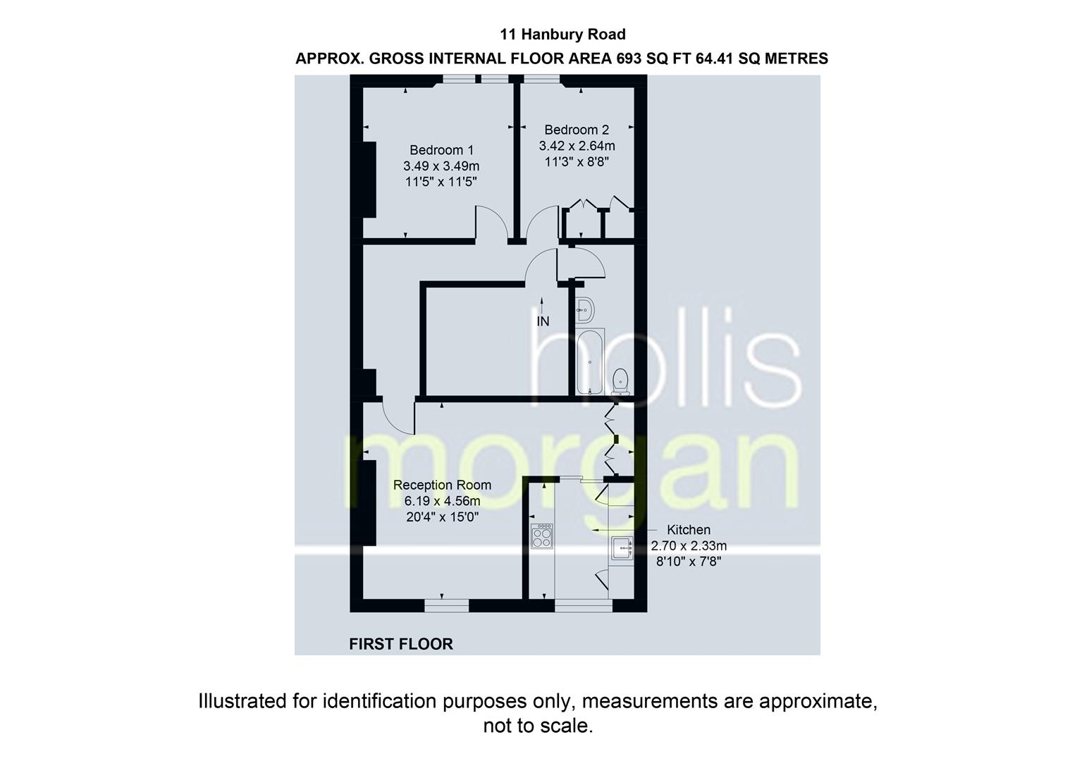 Floorplans For Hanbury Road, Clifton